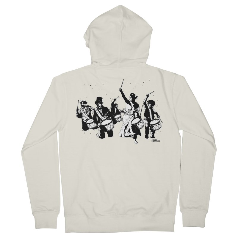 the new revolution Men's Zip-Up Hoody by ROCK ARTWORK   T-shirts & apparels