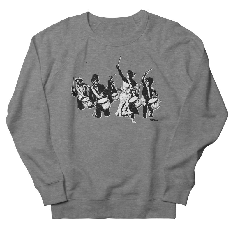 the new revolution Women's French Terry Sweatshirt by ROCK ARTWORK   T-shirts & apparels