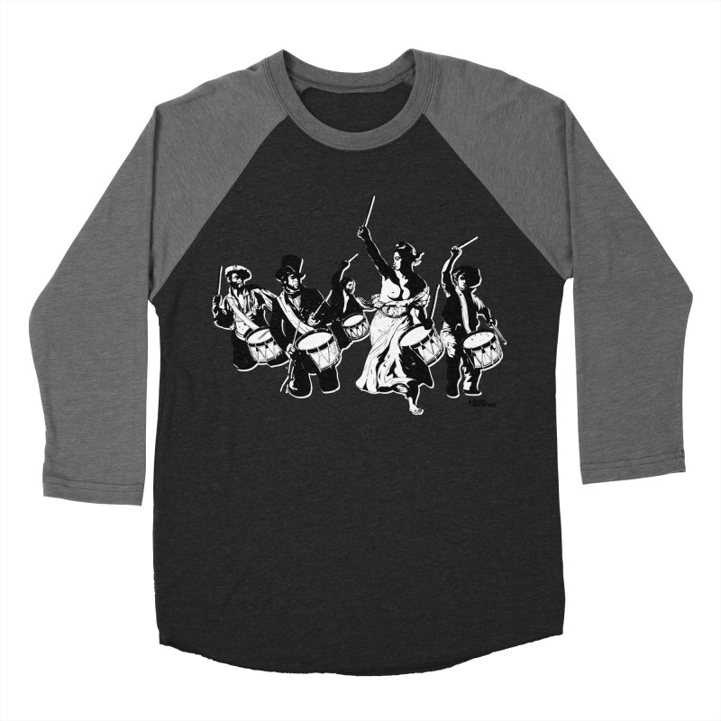 the new revolution Women's Baseball Triblend Longsleeve T-Shirt by ROCK ARTWORK | T-shirts & apparels