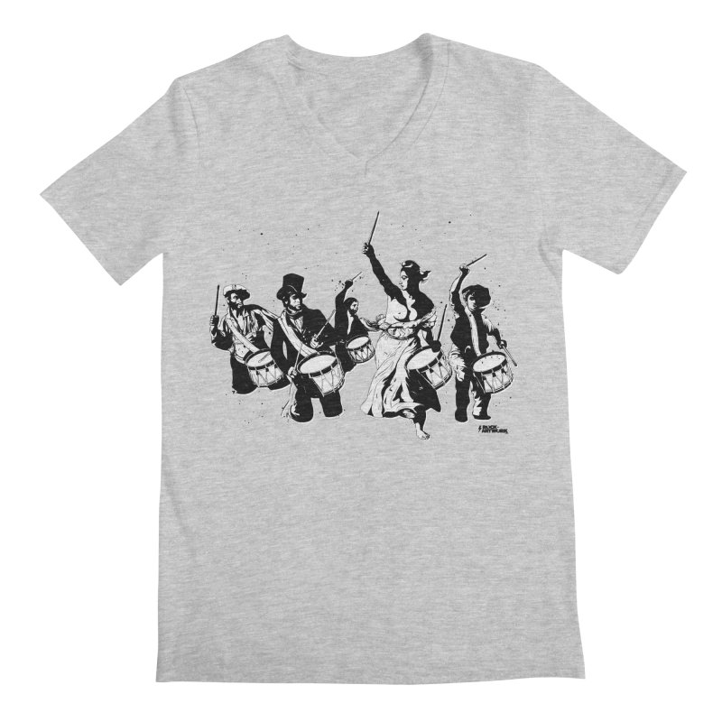 the new revolution Men's Regular V-Neck by ROCK ARTWORK | T-shirts & apparels