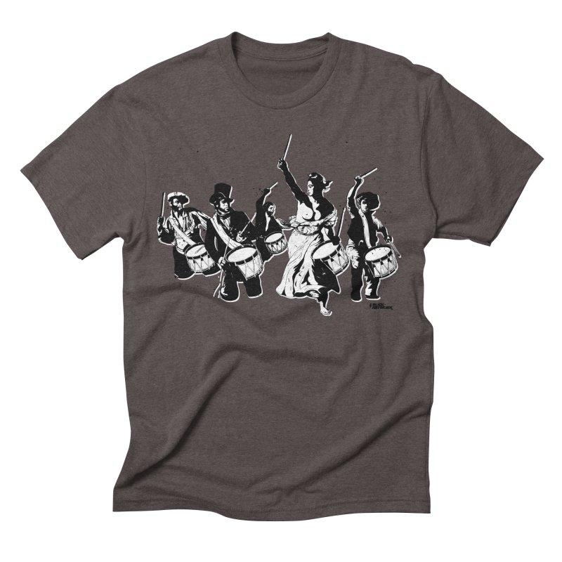 the new revolution Men's Triblend T-shirt by ROCK ARTWORK | T-shirts & apparels