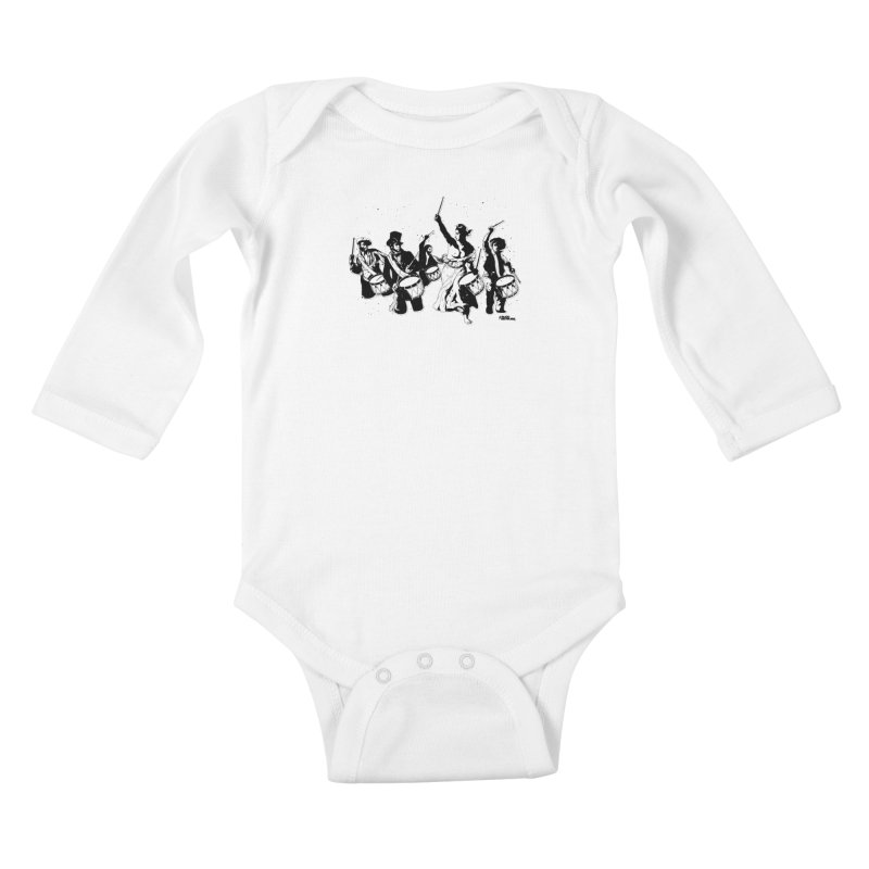 the new revolution Kids Baby Longsleeve Bodysuit by ROCK ARTWORK | T-shirts & apparels