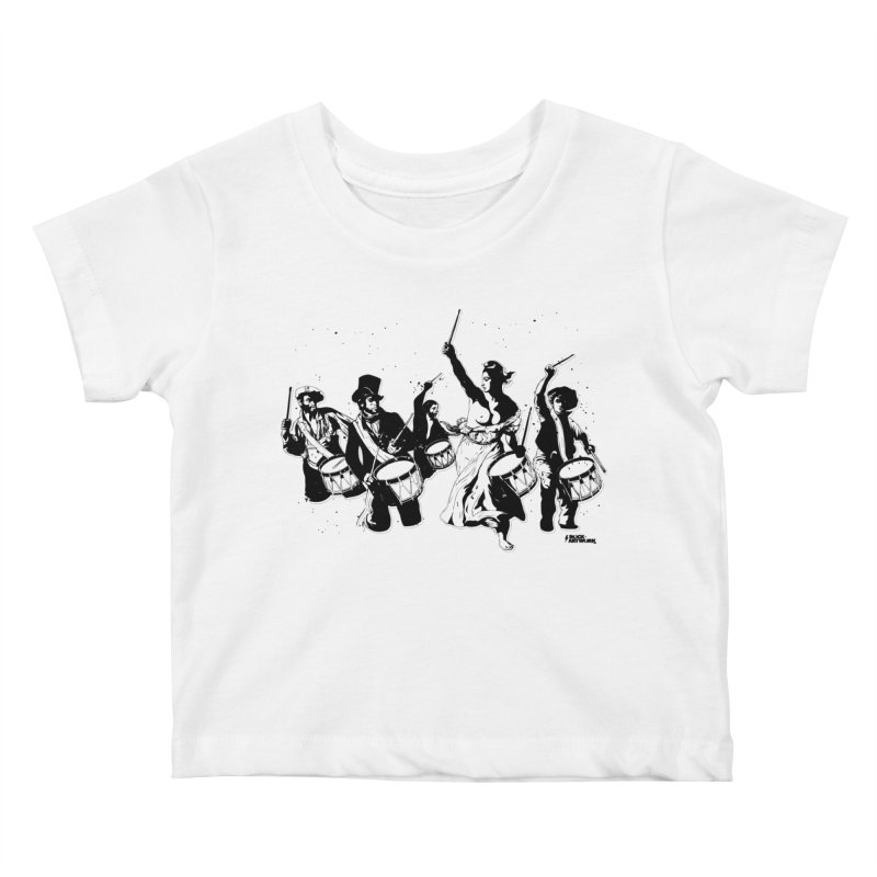 the new revolution Kids Baby T-Shirt by ROCK ARTWORK | T-shirts & apparels