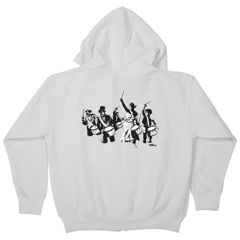 the new revolution Kids Zip-Up Hoody by ROCK ARTWORK | T-shirts & apparels