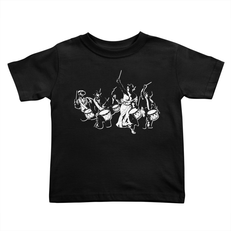the new revolution Kids Toddler T-Shirt by ROCK ARTWORK | T-shirts & apparels