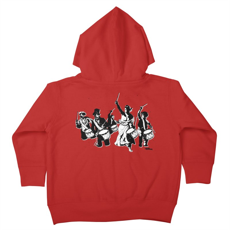 the new revolution Kids Toddler Zip-Up Hoody by ROCK ARTWORK | T-shirts & apparels