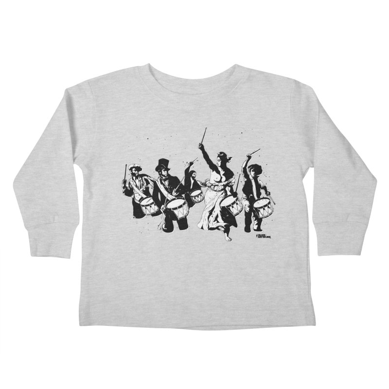 the new revolution Kids Toddler Longsleeve T-Shirt by ROCK ARTWORK | T-shirts & apparels