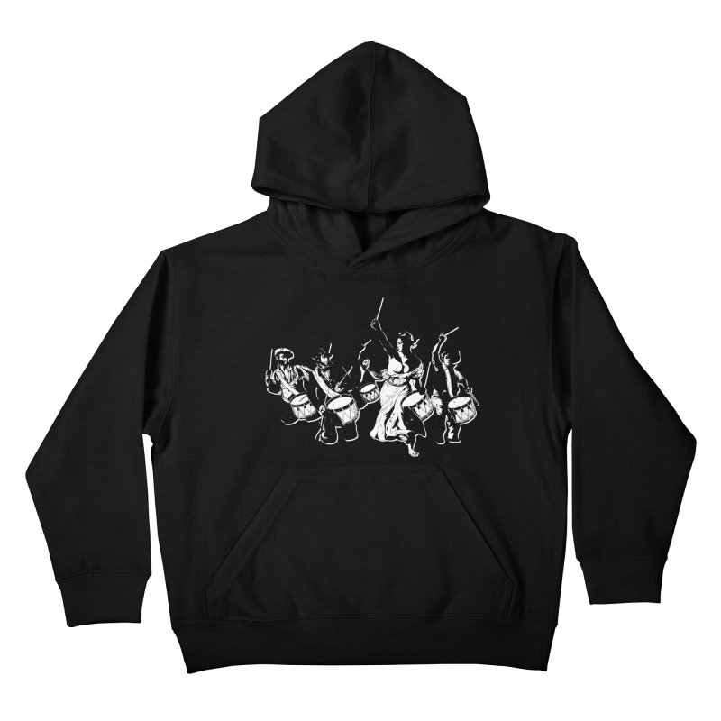 the new revolution Kids Pullover Hoody by ROCK ARTWORK   T-shirts & apparels
