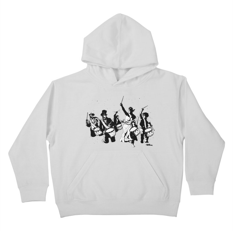 the new revolution Kids Pullover Hoody by ROCK ARTWORK | T-shirts & apparels