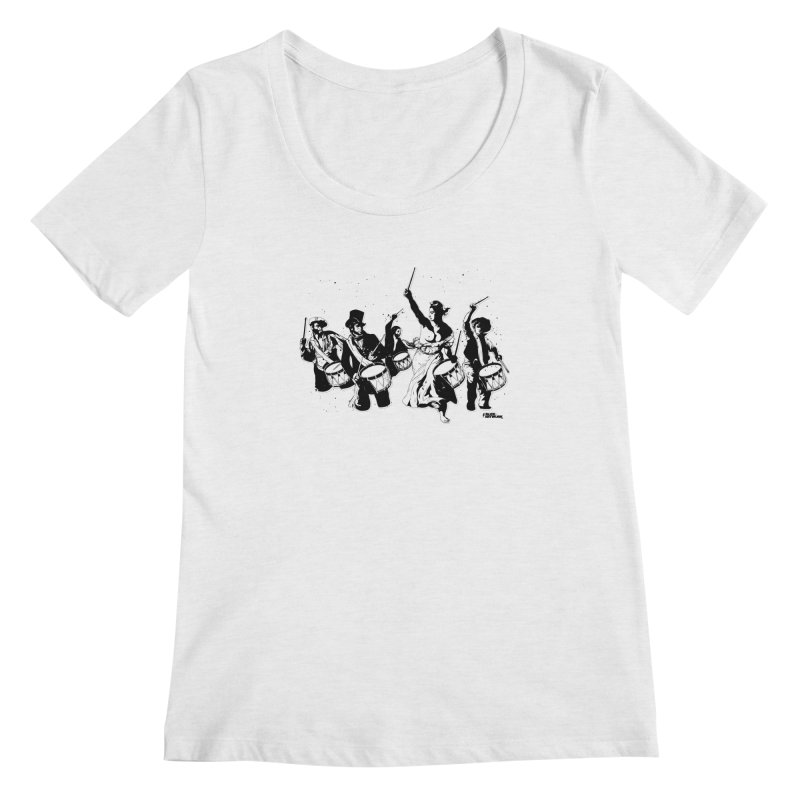 the new revolution Women's Scoop Neck by ROCK ARTWORK | T-shirts & apparels