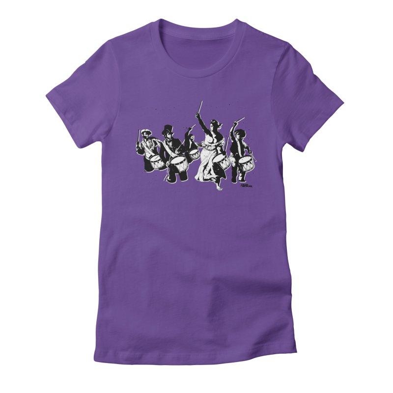 the new revolution Women's Fitted T-Shirt by ROCK ARTWORK | T-shirts & apparels