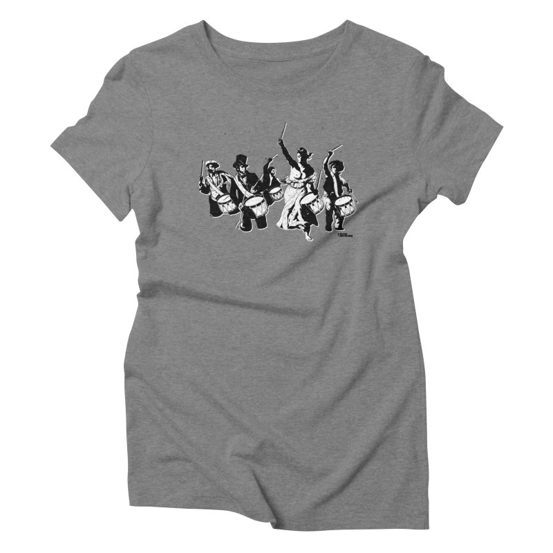 the new revolution Women's Triblend T-Shirt by ROCK ARTWORK | T-shirts & apparels