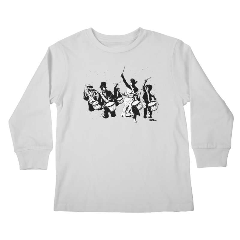 the new revolution Kids Longsleeve T-Shirt by ROCK ARTWORK | T-shirts & apparels