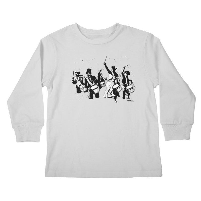 the new revolution Kids Longsleeve T-Shirt by ROCK ARTWORK | T-shirts & apparels