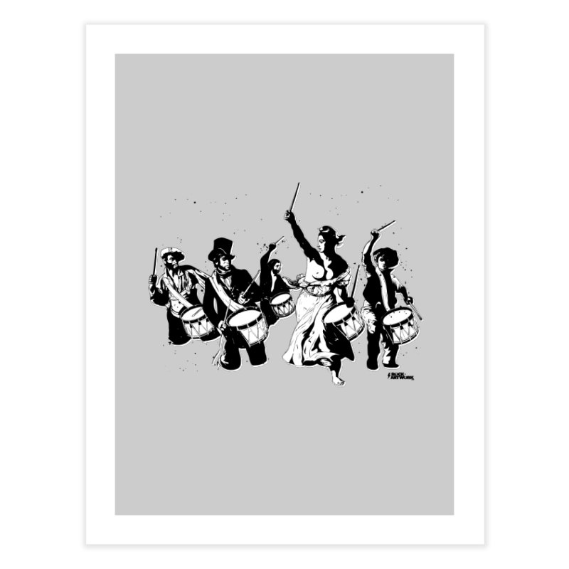 the new revolution Home Fine Art Print by ROCK ARTWORK | T-shirts & apparels