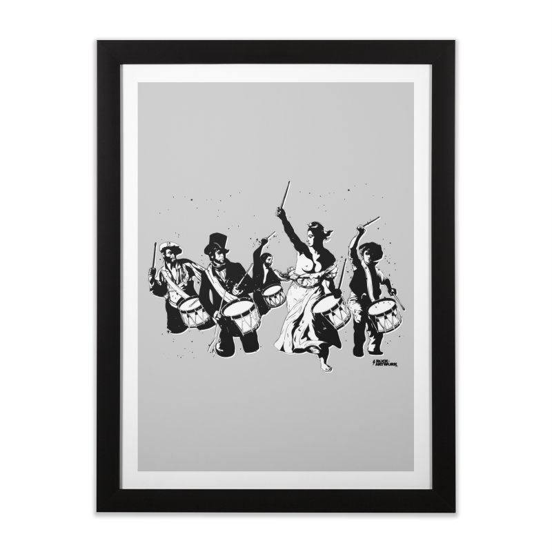 the new revolution Home Framed Fine Art Print by ROCK ARTWORK | T-shirts & apparels