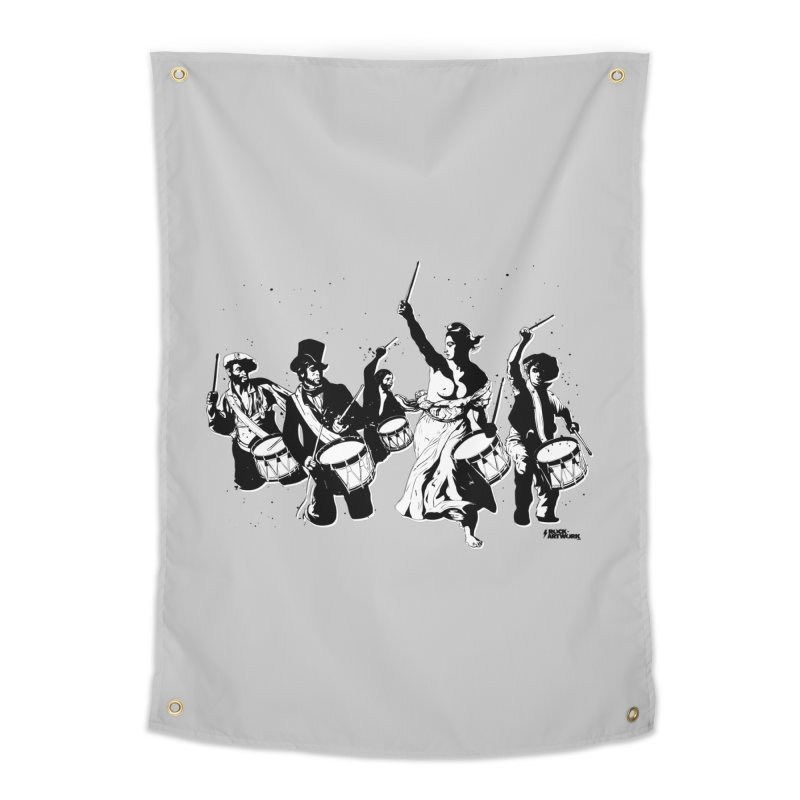 the new revolution Home Tapestry by ROCK ARTWORK | T-shirts & apparels