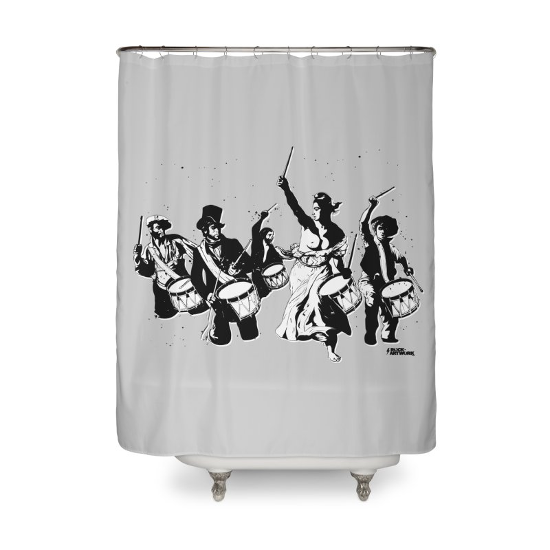 the new revolution Home Shower Curtain by ROCK ARTWORK | T-shirts & apparels