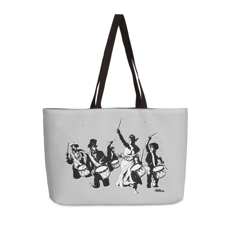 the new revolution Accessories Weekender Bag Bag by ROCK ARTWORK | T-shirts & apparels