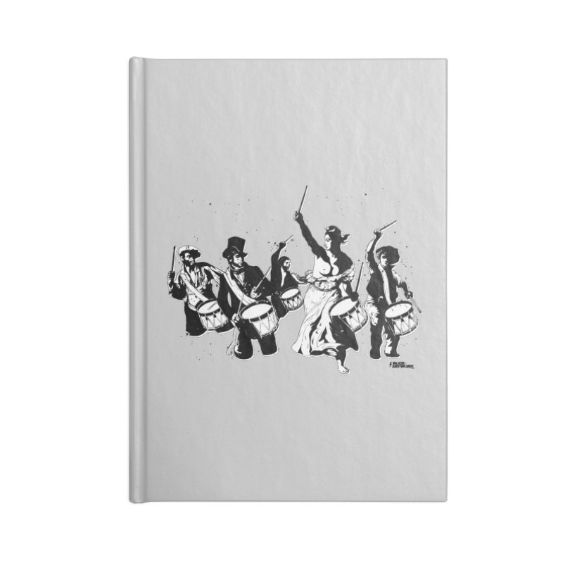 the new revolution Accessories Lined Journal Notebook by ROCK ARTWORK | T-shirts & apparels