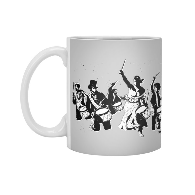 the new revolution Accessories Standard Mug by ROCK ARTWORK | T-shirts & apparels