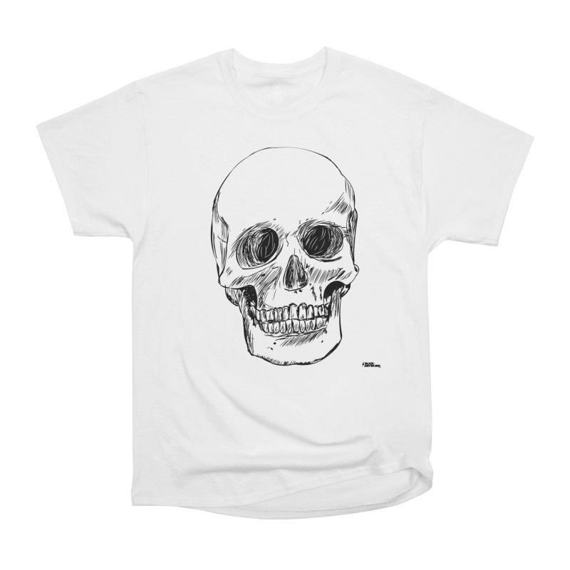 A Simple Skull Men's T-Shirt by ROCK ARTWORK | T-shirts & apparels
