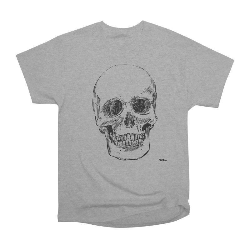 A Simple Skull Men's T-Shirt by ROCK ARTWORK   T-shirts & apparels