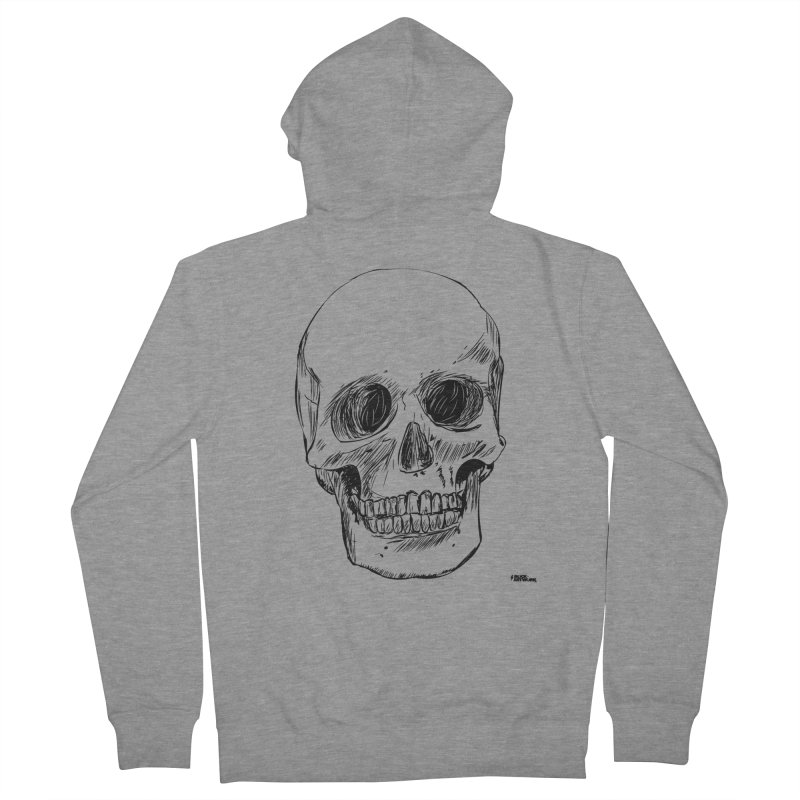 A Simple Skull Men's Zip-Up Hoody by ROCK ARTWORK | T-shirts & apparels