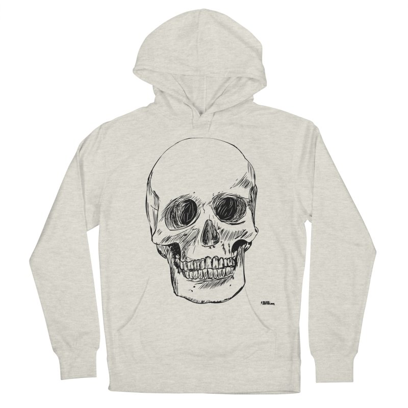 A Simple Skull Women's Pullover Hoody by ROCK ARTWORK | T-shirts & apparels