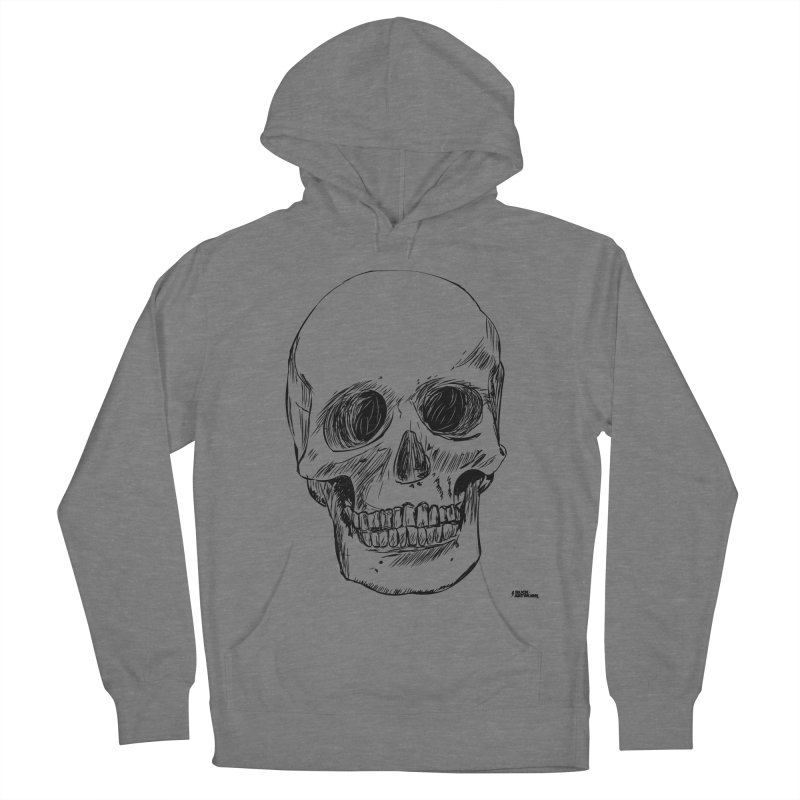 A Simple Skull Men's French Terry Pullover Hoody by ROCK ARTWORK | T-shirts & apparels