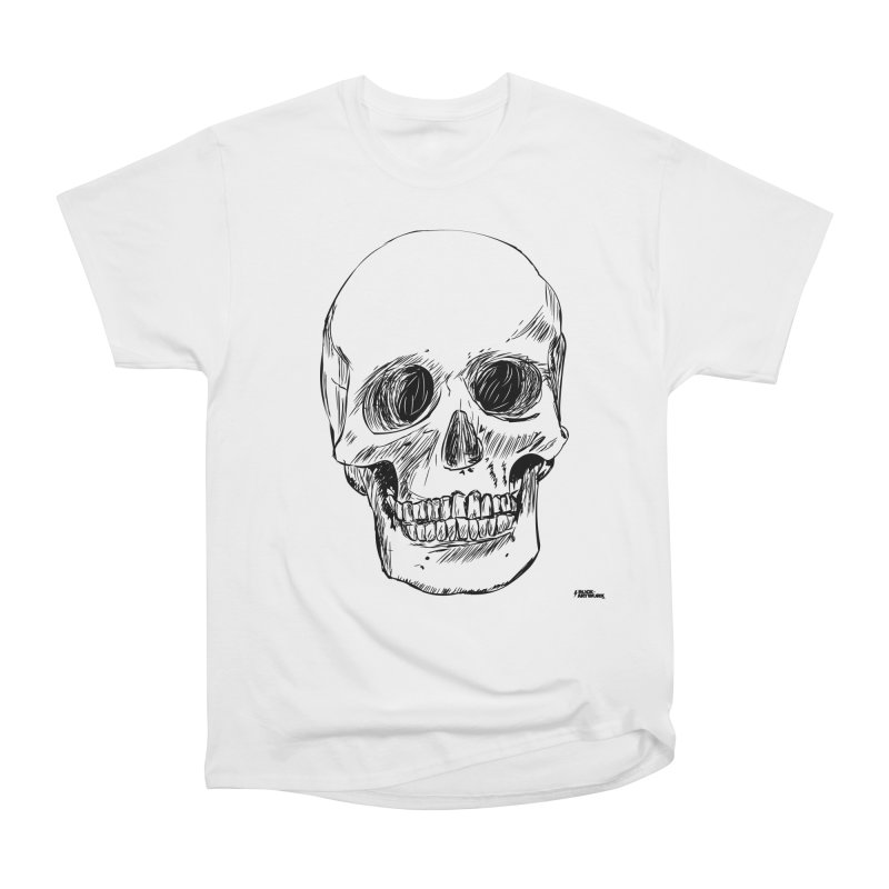 A Simple Skull Men's T-Shirt by ROCK ARTWORK | T-shirts & apparels