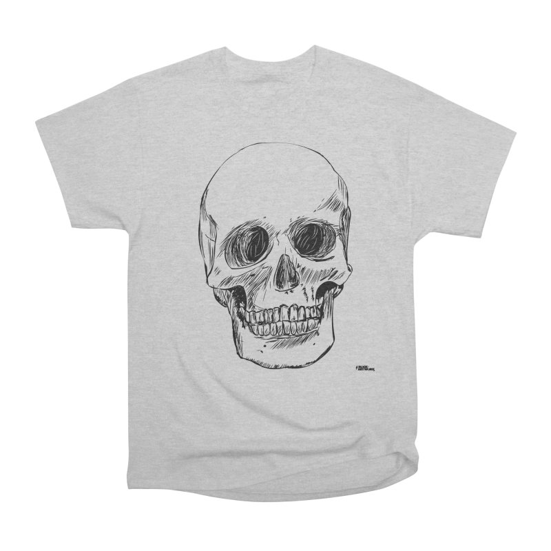 A Simple Skull Women's Classic Unisex T-Shirt by ROCK ARTWORK | T-shirts & apparels