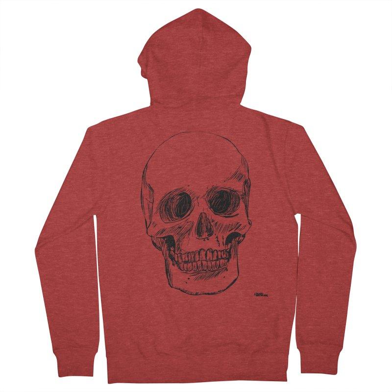 A Simple Skull Men's Zip-Up Hoody by ROCK ARTWORK | T-shirts & apparels