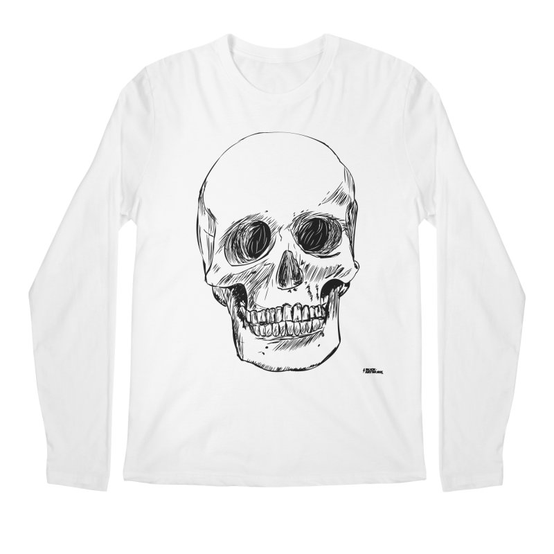 A Simple Skull Men's Longsleeve T-Shirt by ROCK ARTWORK | T-shirts & apparels