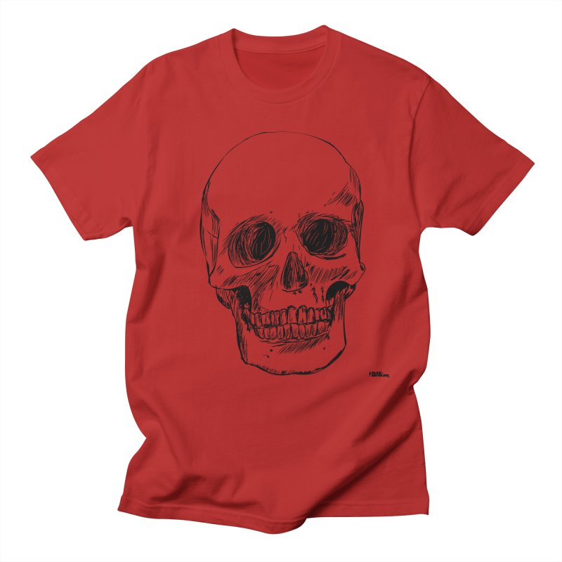 A Simple Skull   by ROCK ARTWORK | T-shirts & apparels