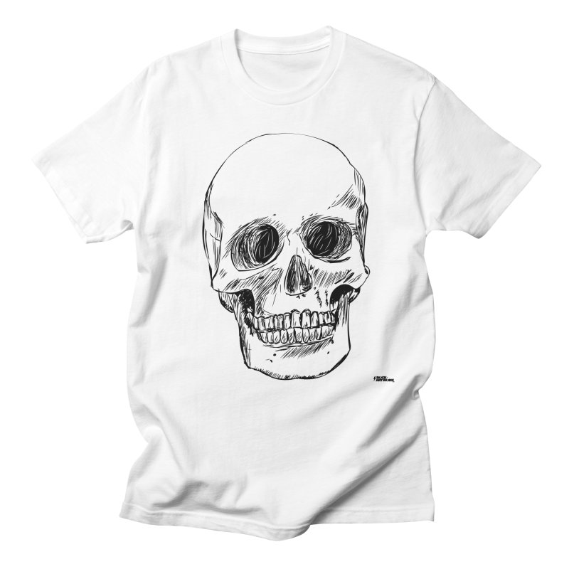A Simple Skull Women's Regular Unisex T-Shirt by ROCK ARTWORK | T-shirts & apparels