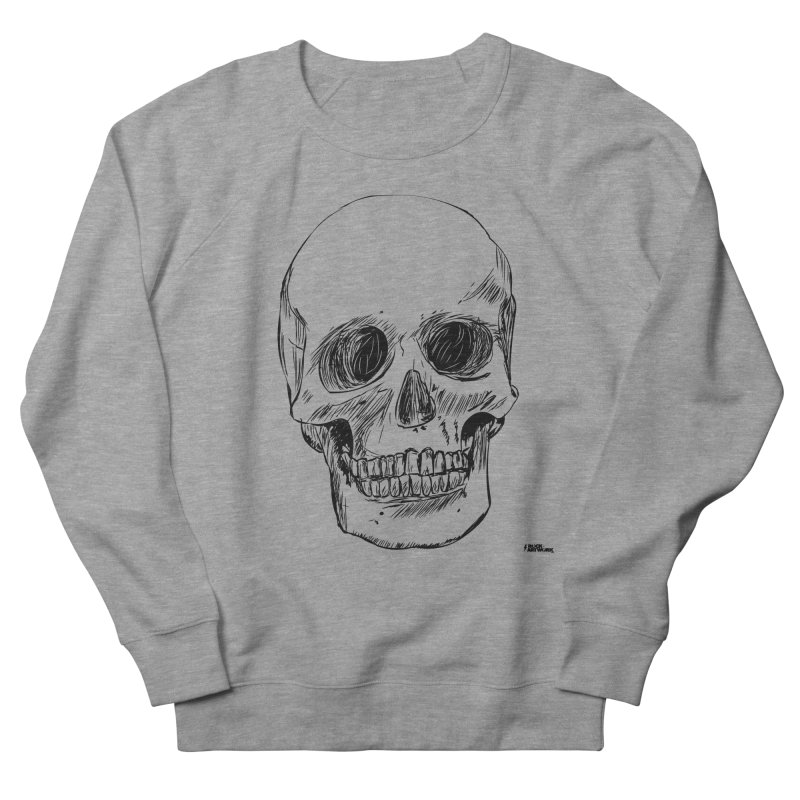 A Simple Skull Women's French Terry Sweatshirt by ROCK ARTWORK | T-shirts & apparels