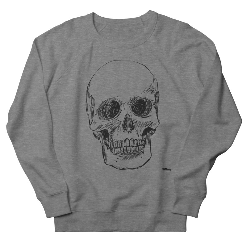 A Simple Skull Men's French Terry Sweatshirt by ROCK ARTWORK | T-shirts & apparels