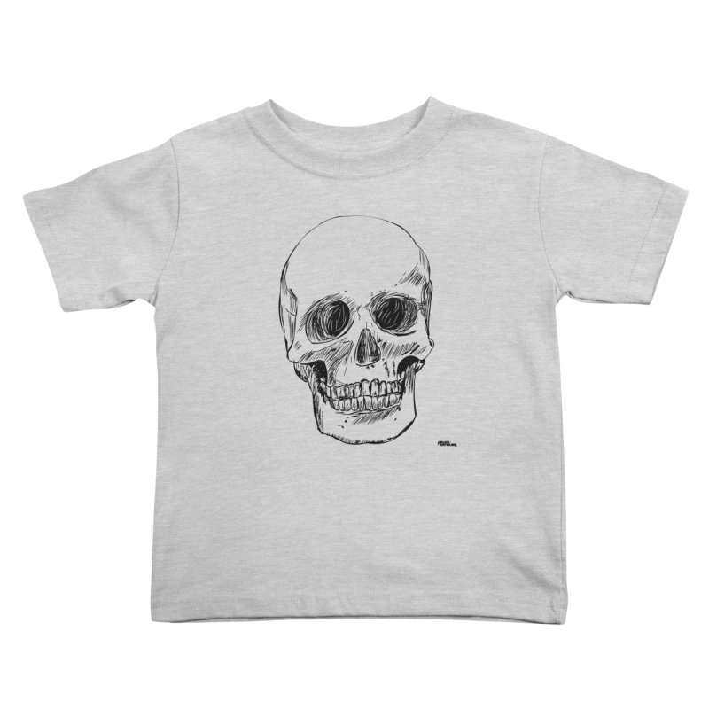 A Simple Skull Kids Toddler T-Shirt by ROCK ARTWORK | T-shirts & apparels