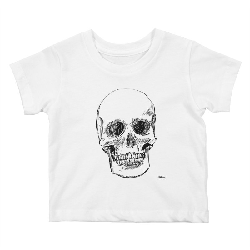 A Simple Skull Kids Baby T-Shirt by ROCK ARTWORK | T-shirts & apparels