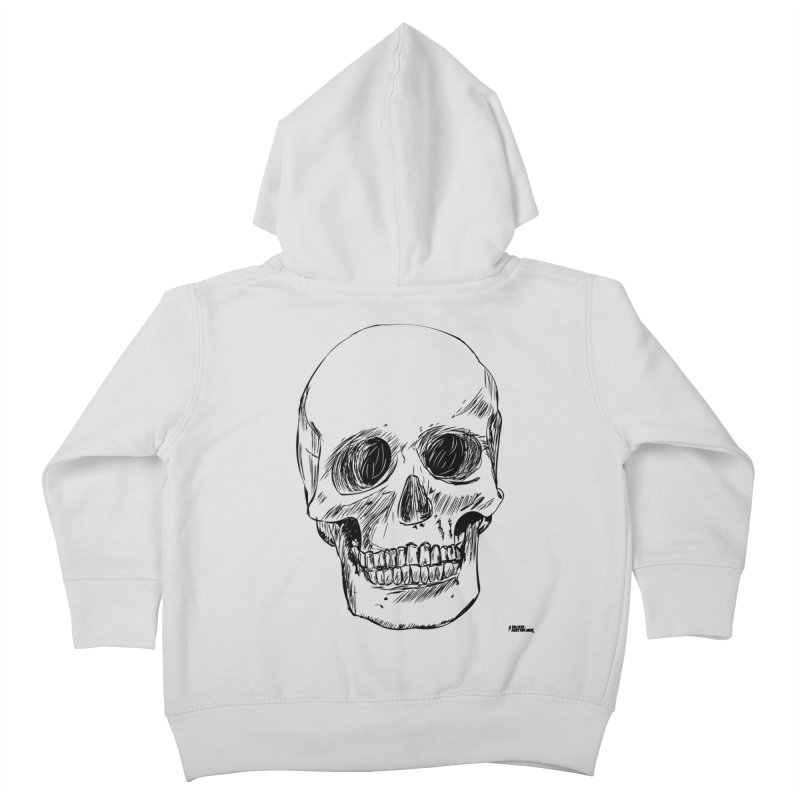 A Simple Skull Kids Toddler Zip-Up Hoody by ROCK ARTWORK   T-shirts & apparels