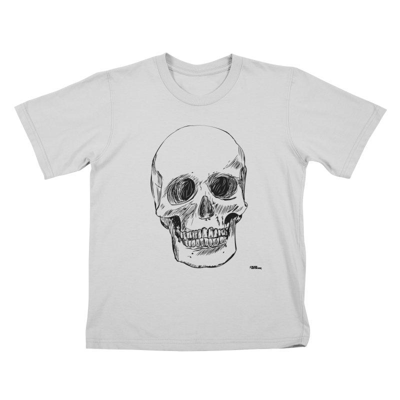 A Simple Skull Kids T-Shirt by ROCK ARTWORK | T-shirts & apparels