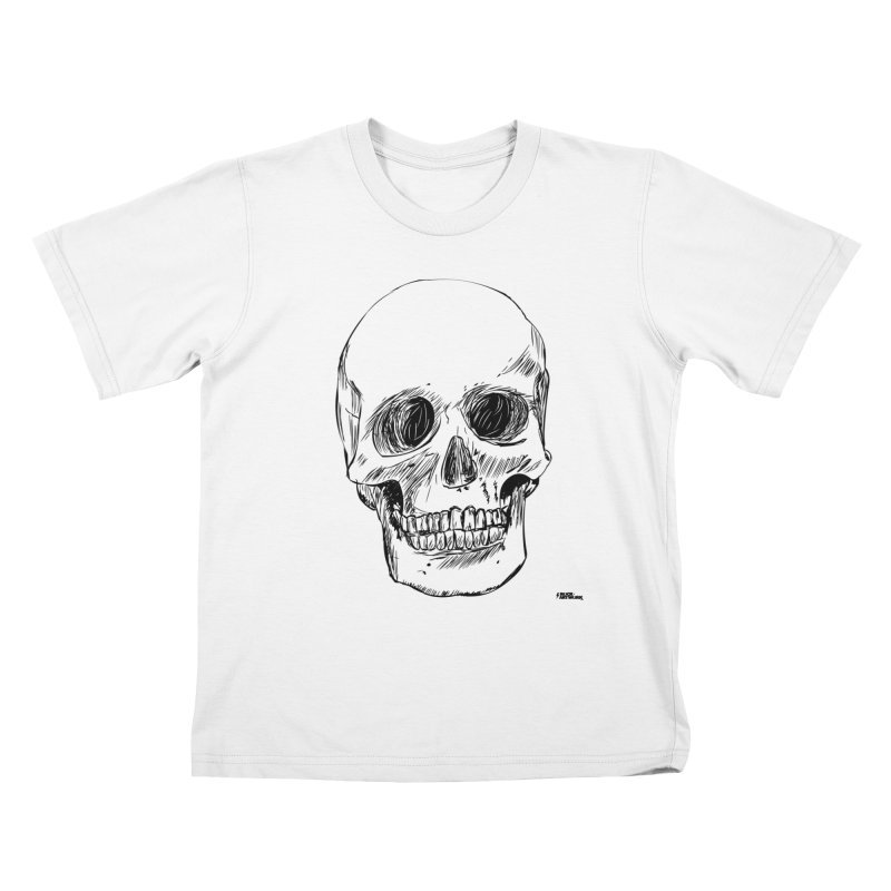 A Simple Skull Kids T-Shirt by ROCK ARTWORK | T-shirts & apparels