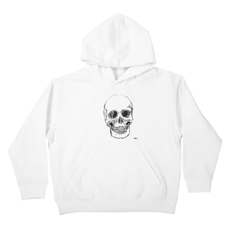 A Simple Skull Kids Pullover Hoody by ROCK ARTWORK | T-shirts & apparels