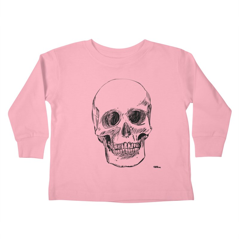 A Simple Skull Kids Toddler Longsleeve T-Shirt by ROCK ARTWORK | T-shirts & apparels