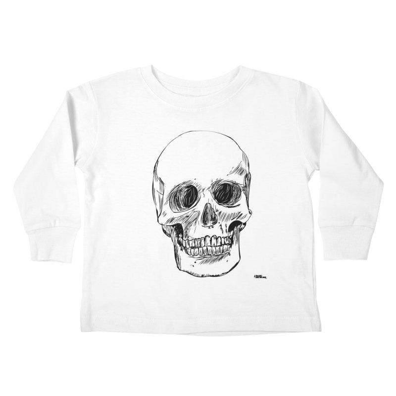 A Simple Skull Kids Toddler Longsleeve T-Shirt by ROCK ARTWORK | T-shirts & apparels