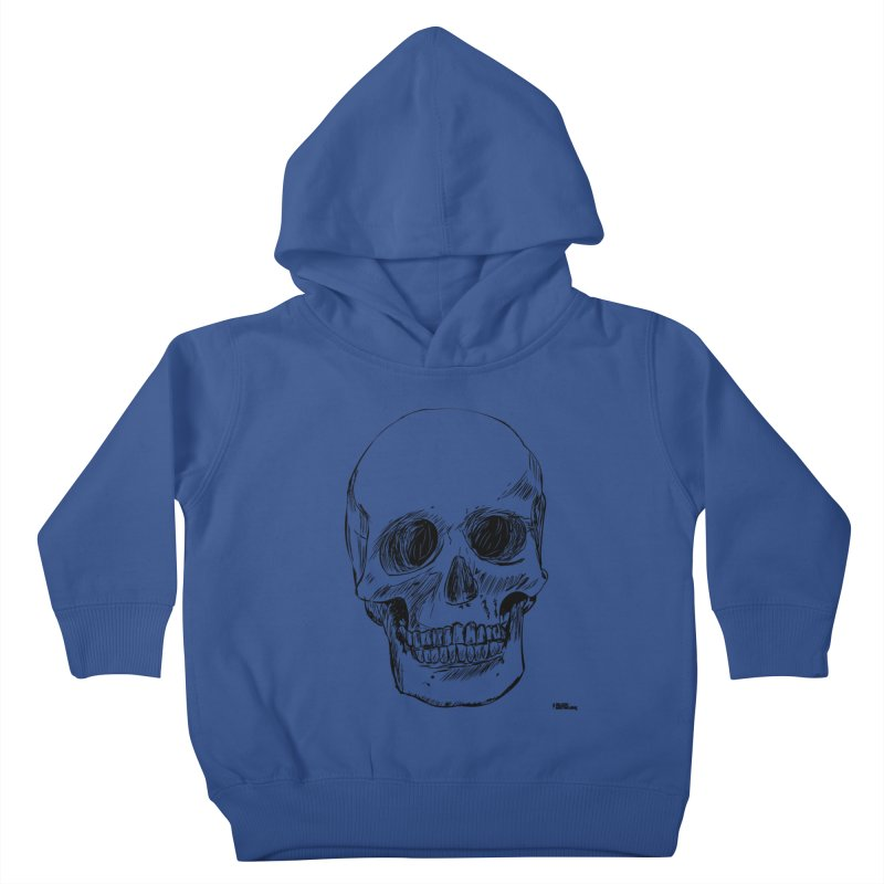 A Simple Skull Kids Toddler Pullover Hoody by ROCK ARTWORK | T-shirts & apparels