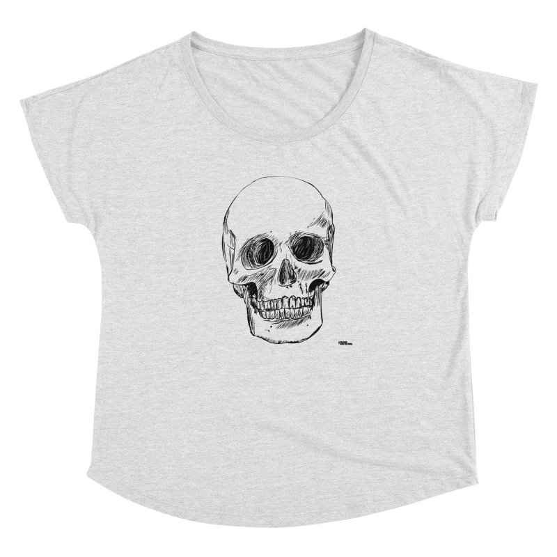A Simple Skull Women's Dolman by ROCK ARTWORK | T-shirts & apparels