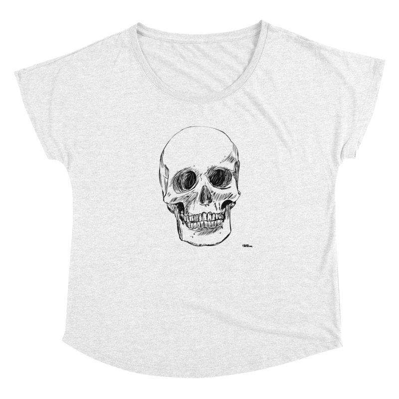 A Simple Skull Women's Dolman by ROCK ARTWORK | T-shirts & apparels
