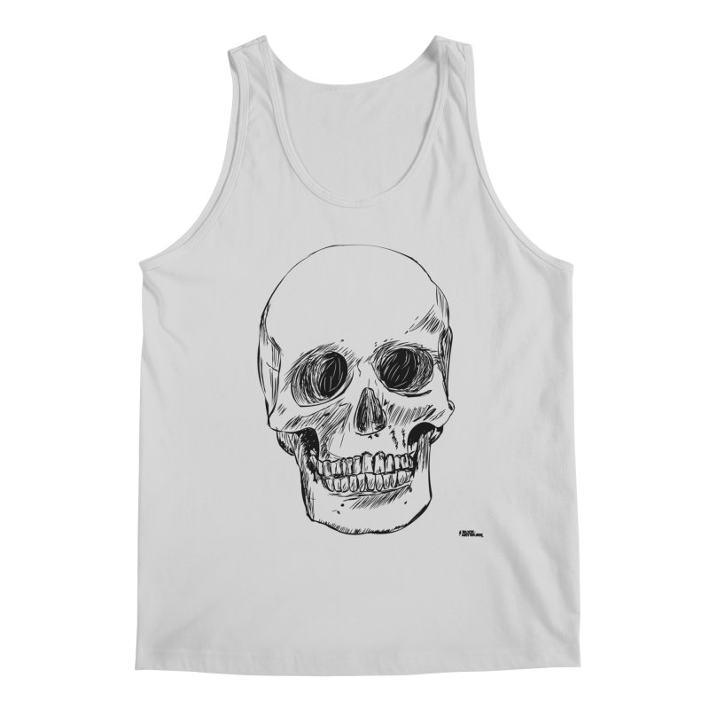 A Simple Skull Men's Regular Tank by ROCK ARTWORK | T-shirts & apparels